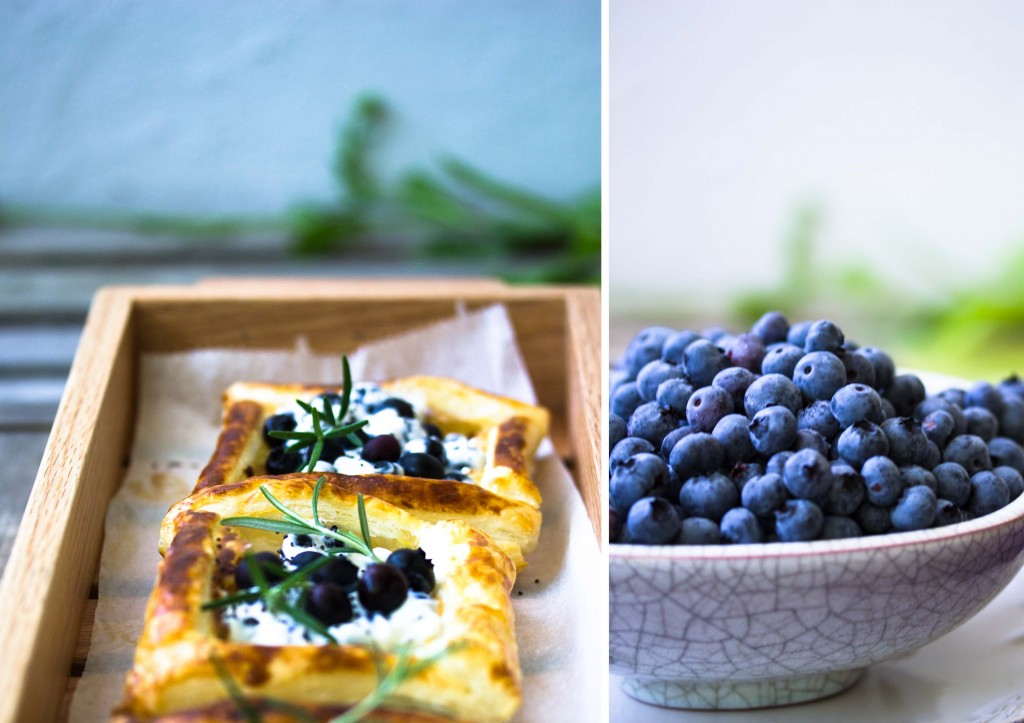 Blueberrytartes