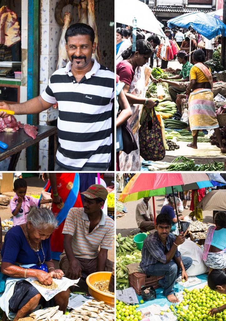 People on Goan Markets