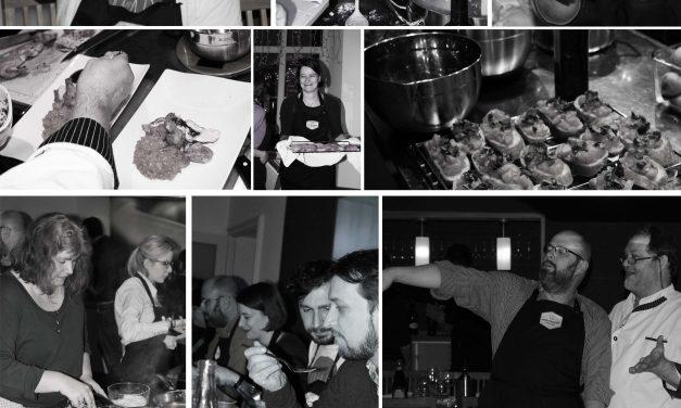 Treffen sich 11 Foodblogger in der Küche….