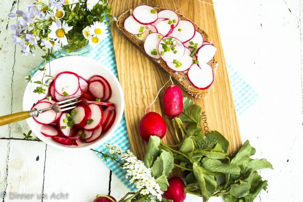 Radieschen Brot und Pickle (1 von 1)