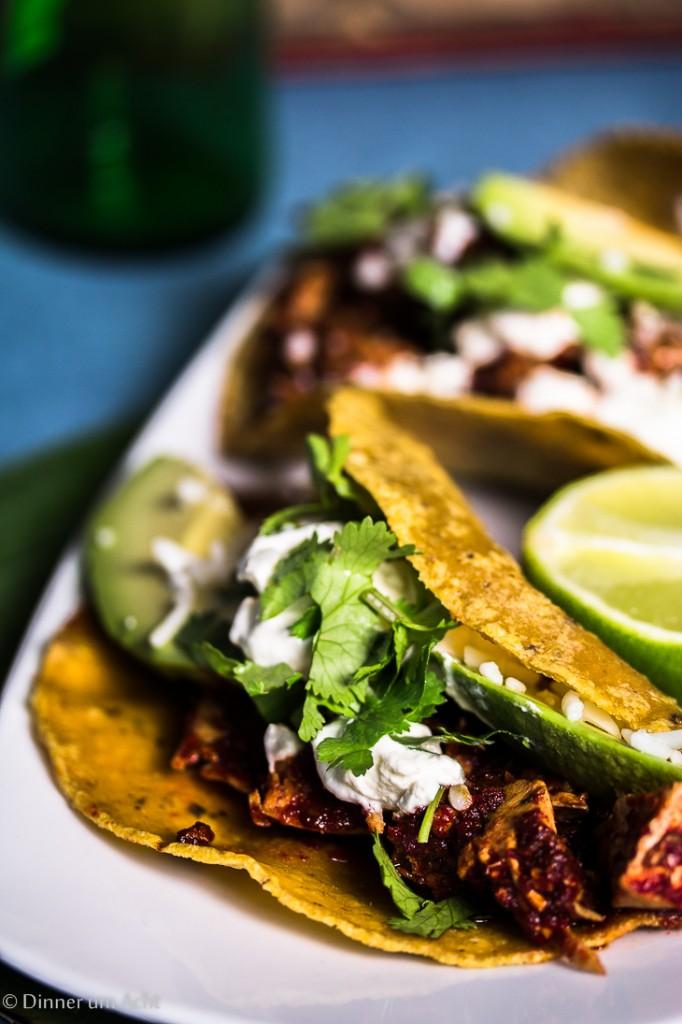 Tortillas mit Salsa-1-4