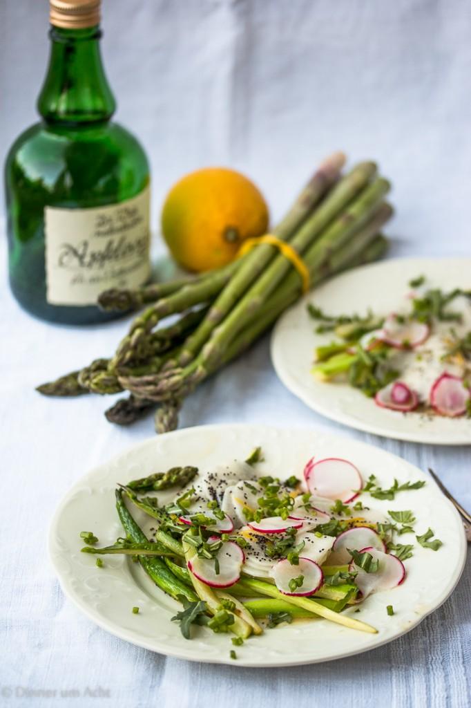 Radish-Asparagus Salad-1-2