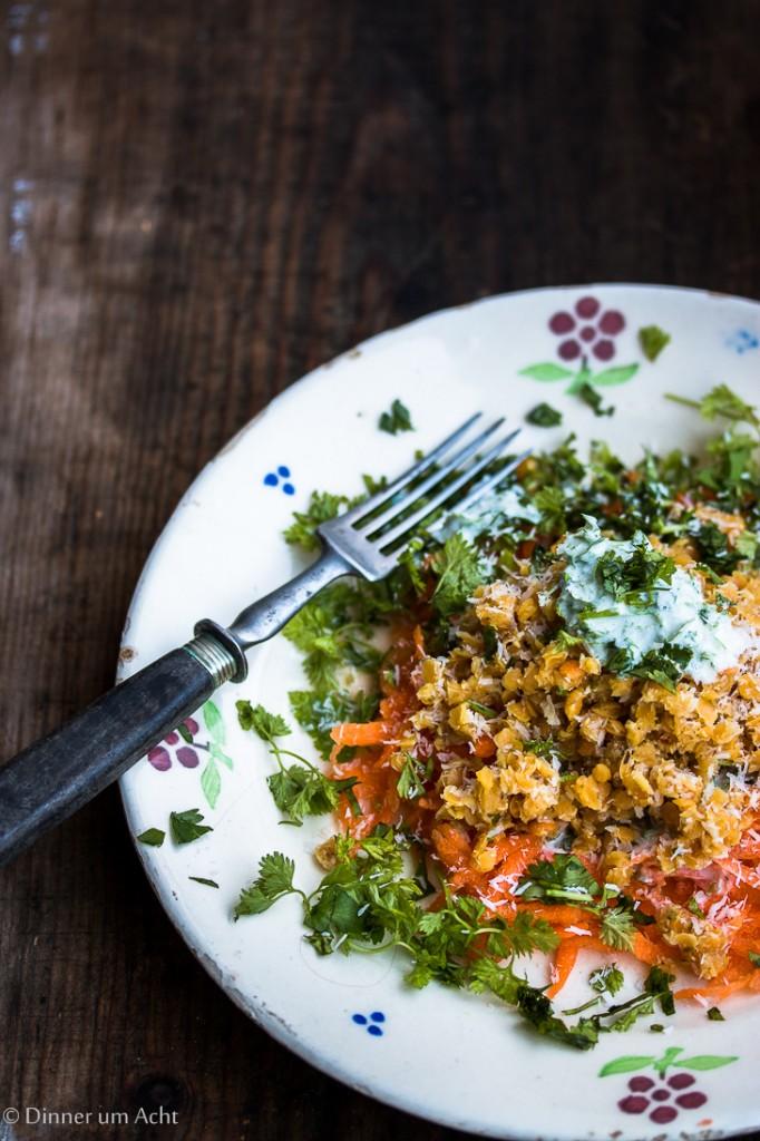 Linsen-Karotten Salat-1-2