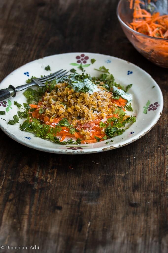 Linsen-Karotten Salat-1-3