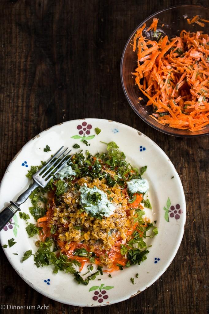 Linsen-Karotten Salat-1