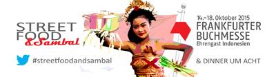 Streetfood & Sambal –  <br/>Das Blog Event mit der Frankfurter Buchmesse bringt dich nach Indonesien!