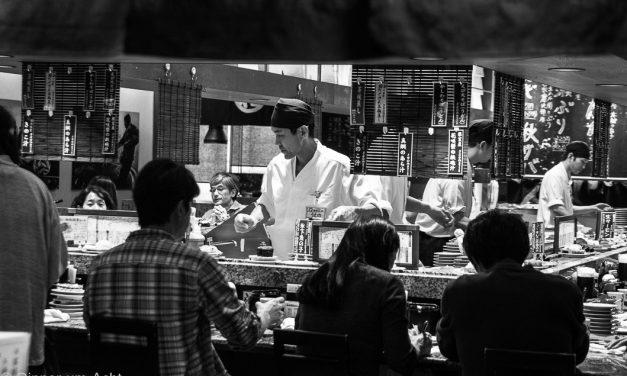 [The Tokio Food Files #1] <br/> Eintauchen, die Sinne öffnen und zur BeruhigungSake trinken