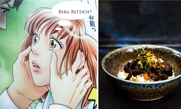 [The Tokio Food Files #3] sag einfach, es sei Berg Rettich….