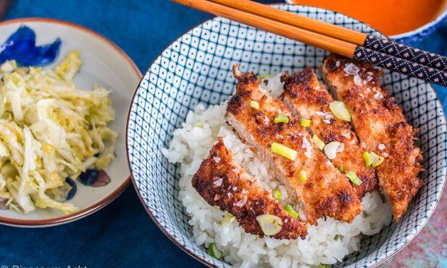 Tonkatsu – Schnitzel auf japanisch