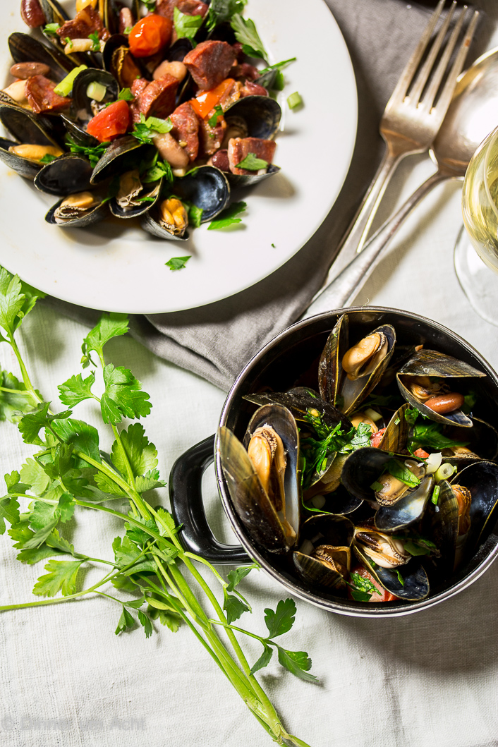 mussels with chorizo-1-2