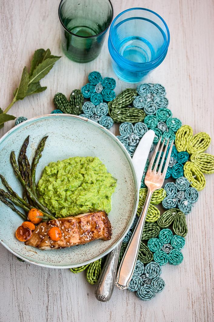 pea puree with asparagus-1