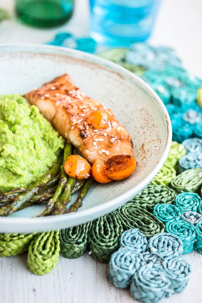 pea puree with asparagus-11