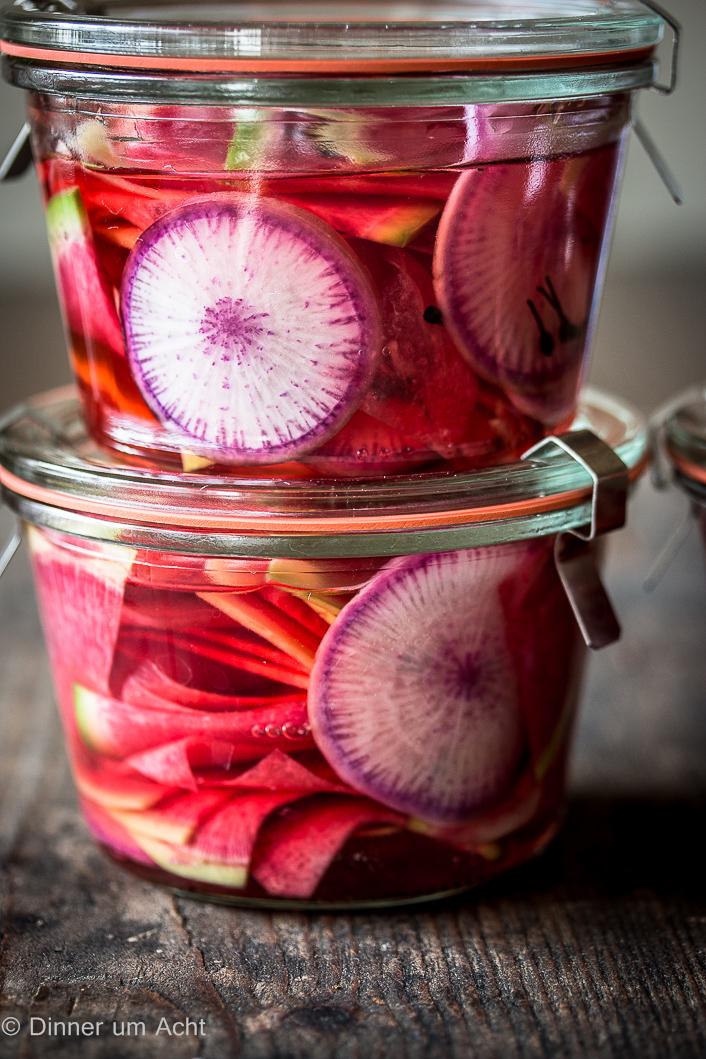 pickled watermelon radish-1-2