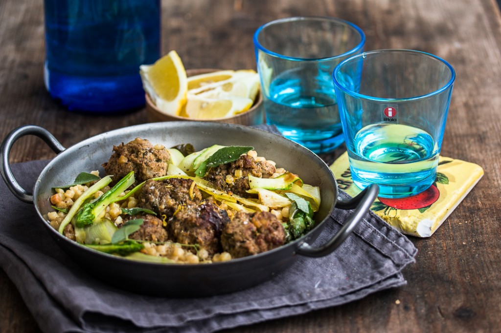 Meatballs with Fregola-2