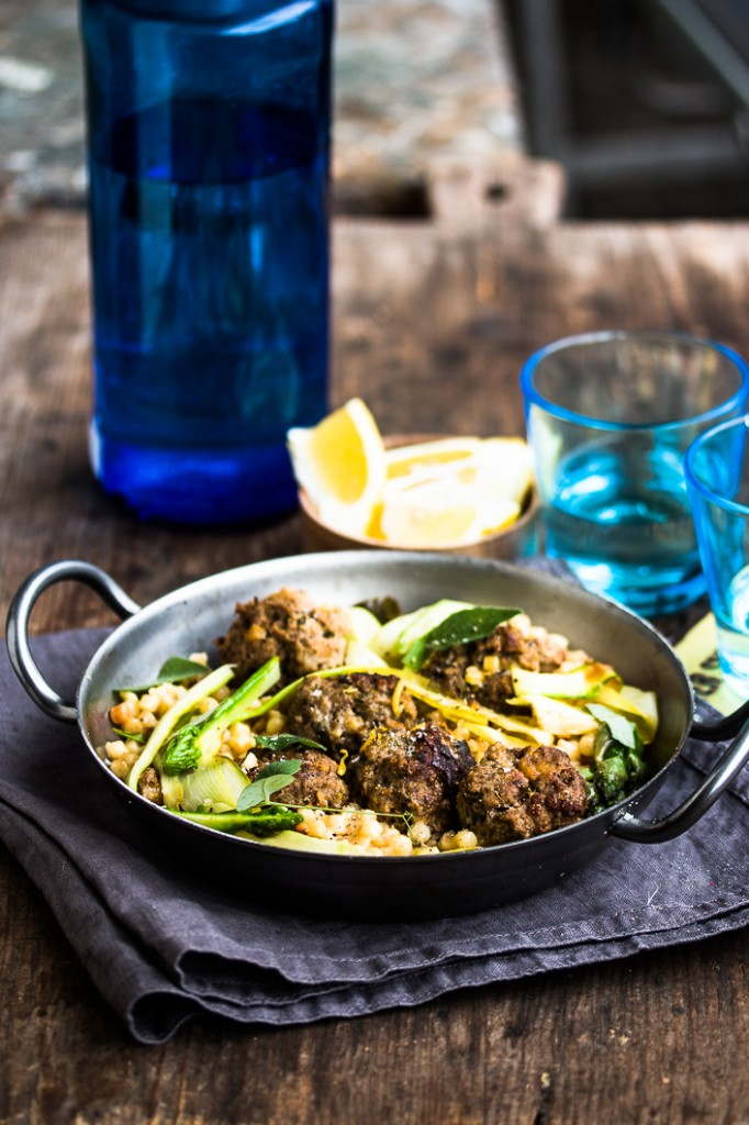 Meatballs with Fregola-3