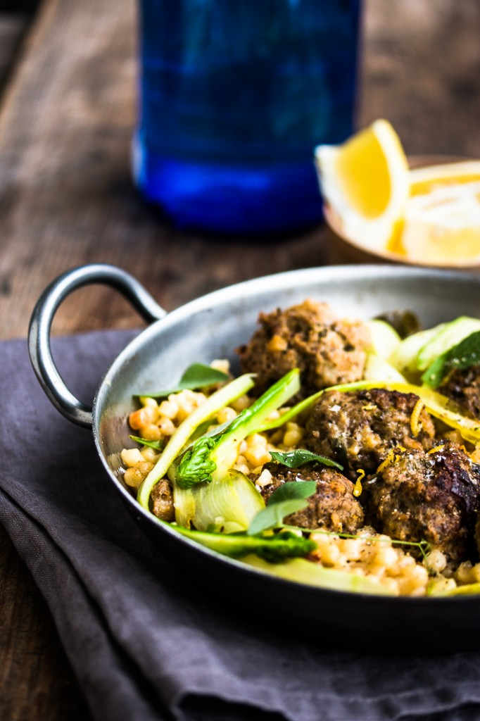 Meatballs with Fregola-4