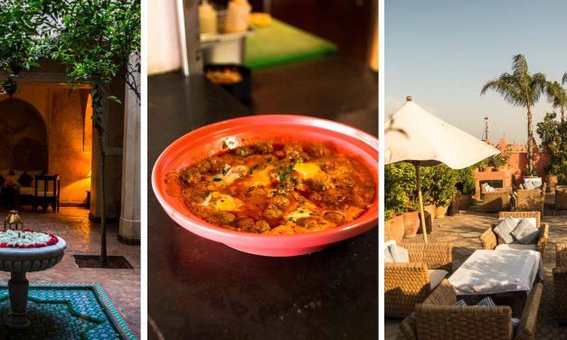 [Marhaba Marrakesch #3]  vom Baden im Luxus, Wassermelone in neuen Dimensionen und wo Filmstars Zitronentörtchen essen