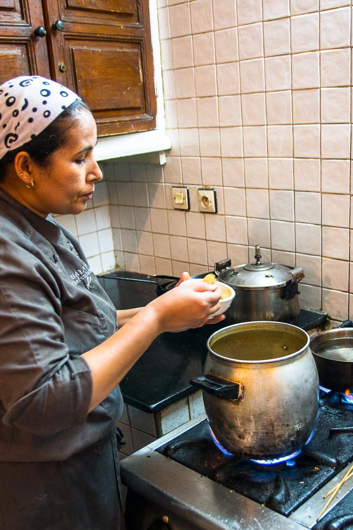 Marrakech Making Couscous-4