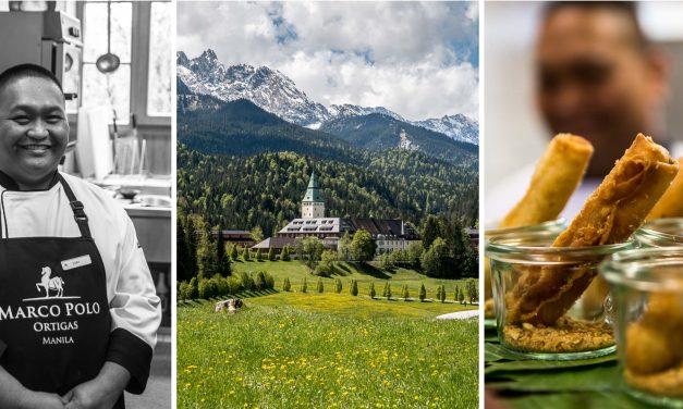 Zauberbergatmosphäre und philippinische Küche –<br/>die Grandezza von Schloss Elmau
