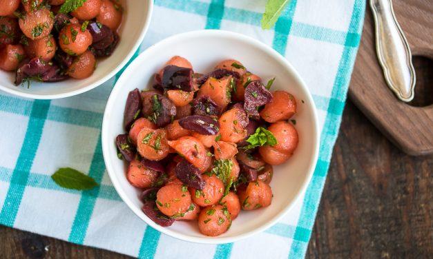 Hitzefrei! – mit pikantem Wassermelonen Salat