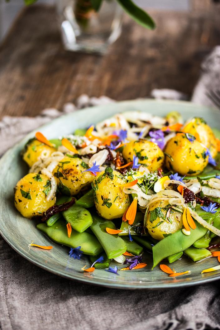 potatoe & beans salad-4