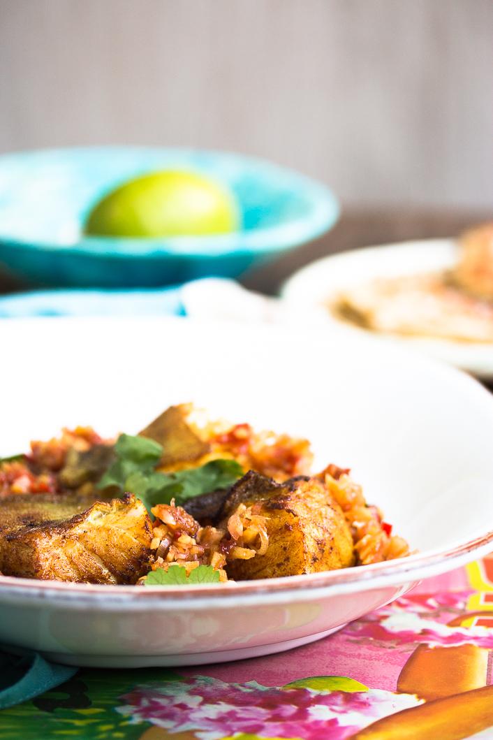 Fried Cod with Lemongras-8