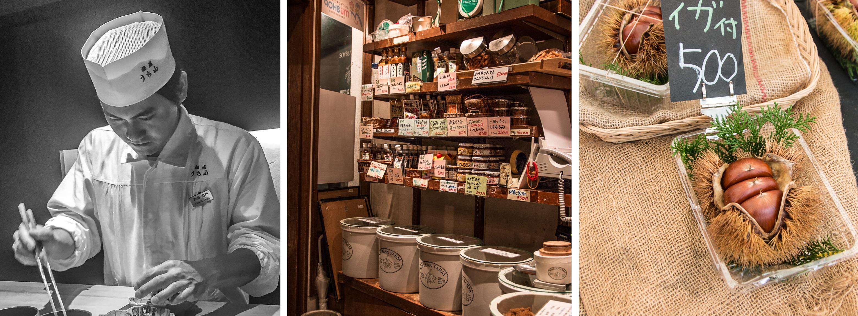 [The Tokio Food Files #4] über Luxuskastanien und drei wirklich fabelhafte Restaurants – Uchiyama – Soybean Farm – Kokori