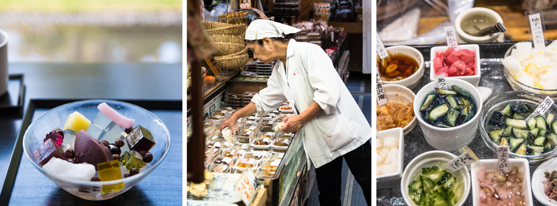 [Kyoto] der wunderbare Nishiki Markt, Wagashis mit Aussicht und die Ruhe am Kaiserpalast