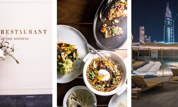 """Neueröffnung in Dubai: """"The Restaurant @ The Address"""", oder warum man die allerbeste Burrata nur mit Blick auf den Burj Khalifa genießen sollte"""