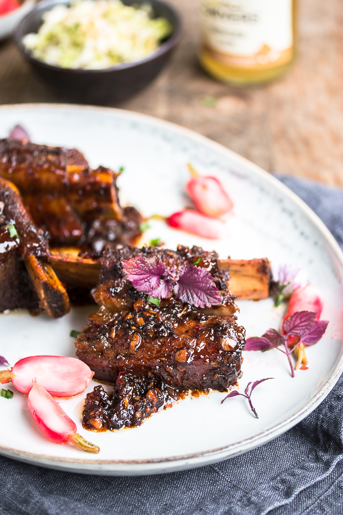 Sticky Beef Ribs Ginger Jam-5-2