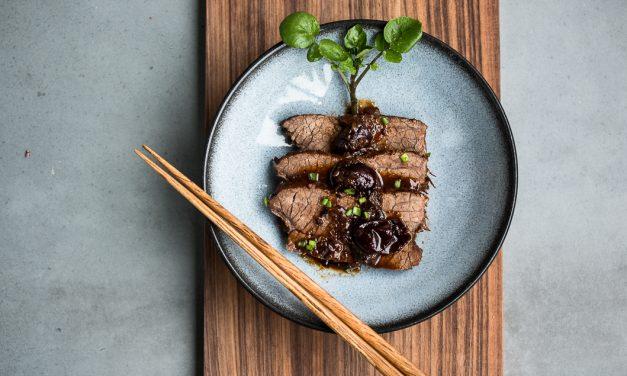 Literarische Versuchsküche: Tafelspitz mit asiatischer Pflaumen-Jujube Sauce, frei nach dem großen Glander