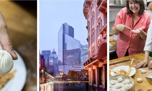 [Shanghai] mit der Dim Sum Meisterin des Sofitel Hotels in der Küche