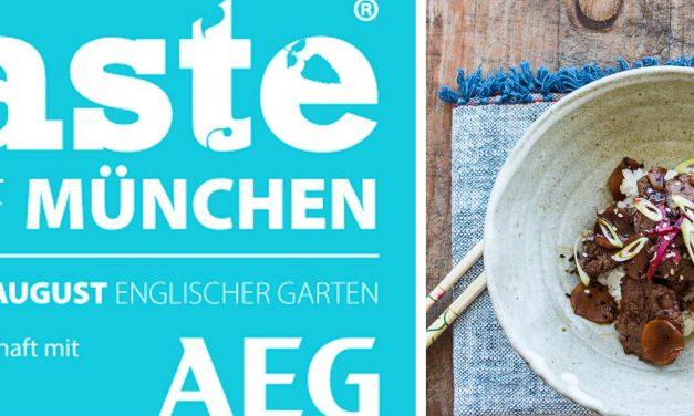 Live und in Farbe – besucht mich auf der Taste® of München, <br/>gewinnt 2 Premium-Tickets und kocht mit mir Okinawa Ginger Beef