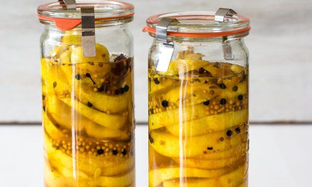 Eingemachte Zitronengurken aus Nova Scotia und warum Farmfood dort immer eine gute Wahl ist