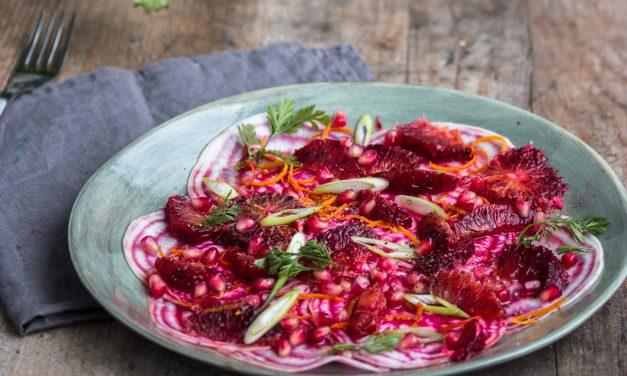 Der schönste Salat der Saison – Ringelbete, Blutorange und Granatapfel