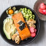 Japanische Frühstücks Bowl