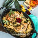 """Die Küche der Karibik – Hühnchen """"Colombo"""" mit Auberginen"""