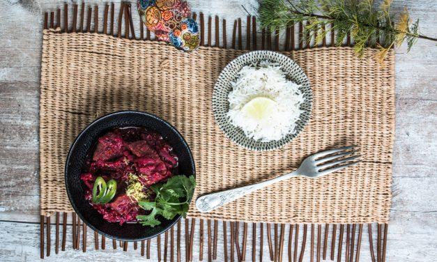 Chukandar Gosht – indisches Beef Curry mit Rote Bete