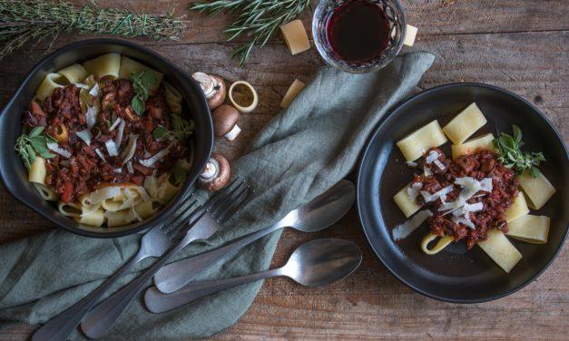 Toskanischer Herbst mit Wildschwein Ragù und einem besonderen Wein aus dem Chianti