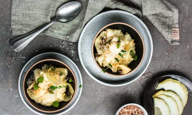 Saisonal schmeckt's besser – Schwarzwurzel Risotto mit Cedri