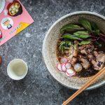 Zum Chinesischen Neujahr – zartgeschmorter Schweinebauch in würziger Shoyu-Limetten Brühe