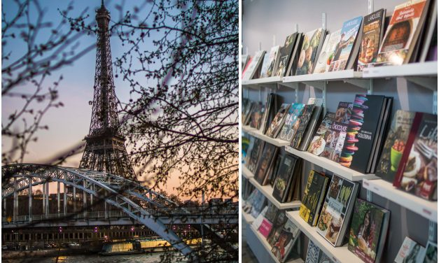 Paris und die besten Kochbücher der Welt