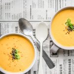 Karotten-Tahini Suppe
