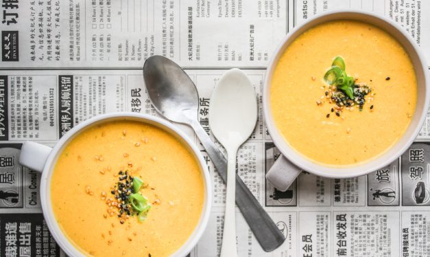 Karotten-Tahini Suppe