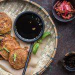 Kimchi Pancakes aus Korea