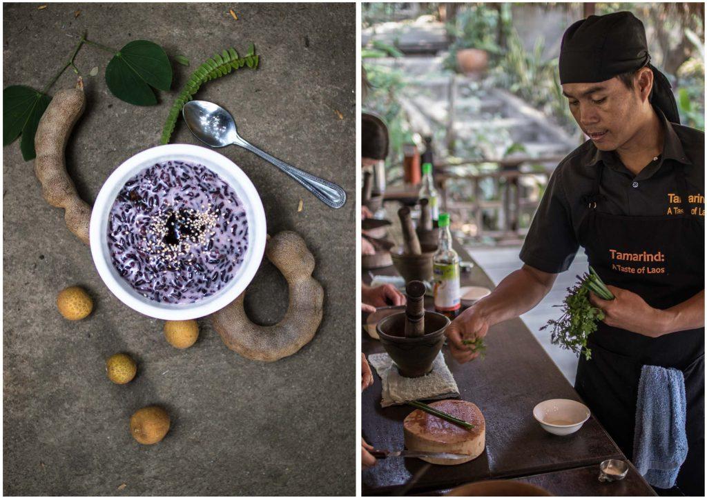 Kochen im Dschungel - die schönste Kochschule in Laos - Dinner um Acht