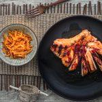 Koreanisches BBQ mit der weltbesten Marinade und Gelbe Bete-Kimchi