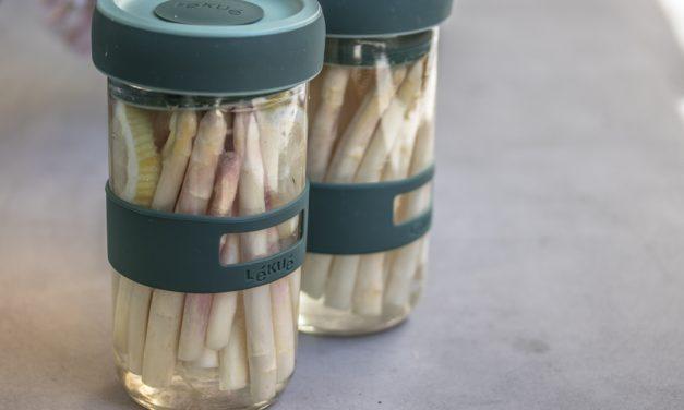Wie Spitzenköche Spargel fermentieren