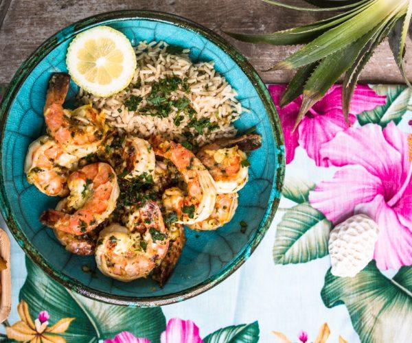 Lemon-Garlic Butter Shrimps – garantiert wie von den besten Food Trucks auf Hawaii
