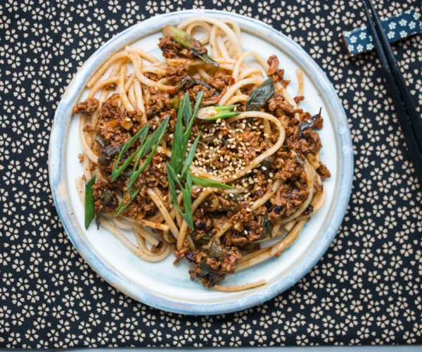 Spicy Udon Noodles